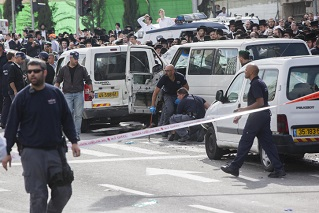 Erneutes Auto-Attentat in Jerusalem
