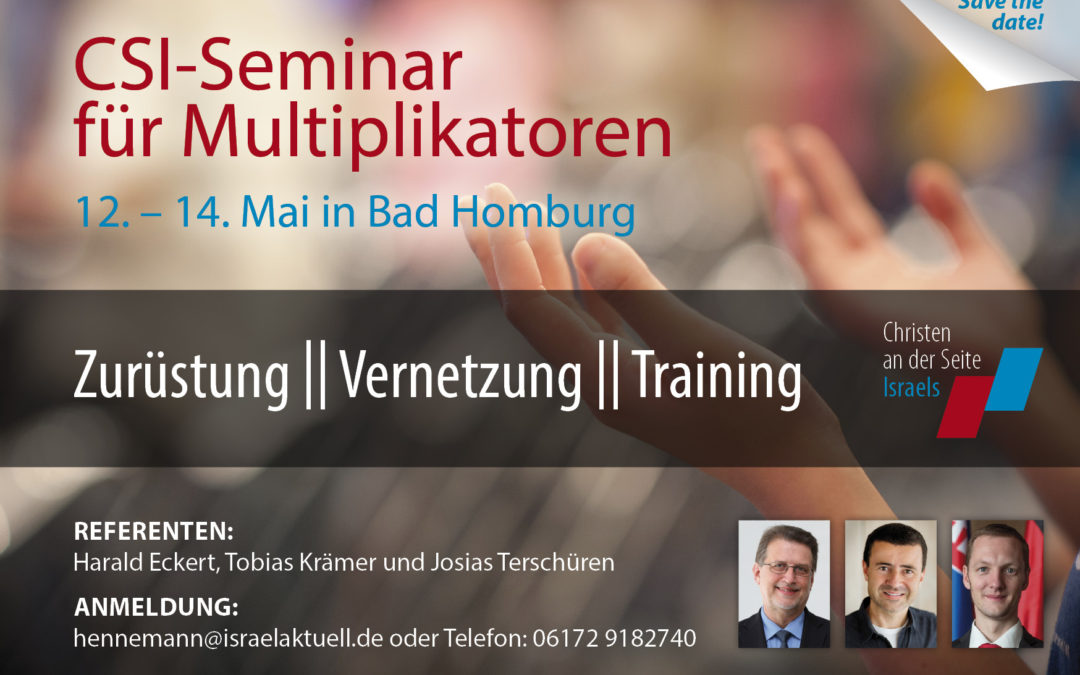 12.-14.05.2017 – CSI Multiplikatorenschulung in Bad Homburg