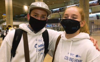 140 Jugendliche beginnen ein neues Leben in Israel | Alijah