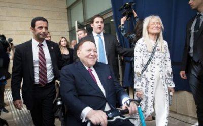 Israel-Unterstützer und Multimilliardär Sheldon Adelson gestorben