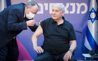 Impfung gegen COVID-19: Erste Israelis erhalten die zweite Dosis