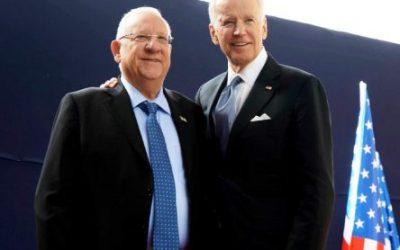 Glückwünsche aus Israel zur Amtseinführung von Joe Biden