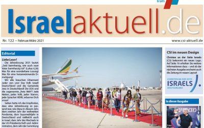 Israelaktuell.de – Ausgabe Nr. 122 – Feb 21/ Mär 21