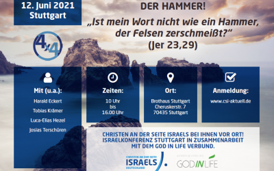 CSI-Online-Konferenz jetzt auf YouTube: Gottes Wort ist der Hammer!