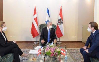 Gipfel-Treffen in Jerusalem: Israel, Österreich und Dänemark wollen gemeinsam Impfstoff gegen COVID herstellen