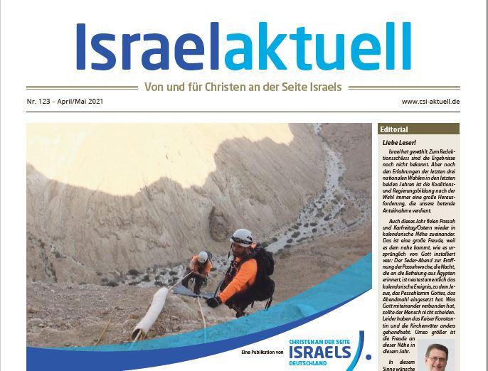 Israelaktuell.de – Ausgabe Nr. 123 – Apr 21/Mai 21