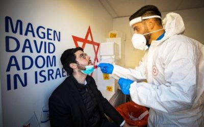 Corona-Zahlen in Israel weiter rückläufig