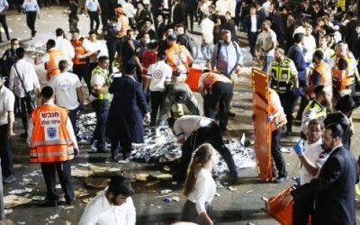 45 Tote bei Massenpanik während der Lag Ba'Omer-Feier in Meron/Nordisrael