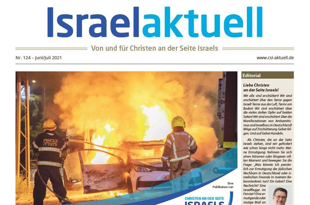 Israelaktuell.de – Ausgabe Nr. 124 – Jun 21/ Jul 21