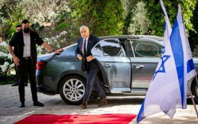 Lapid erhält Mandat für Regierungsbildung