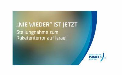Raketenterror auf Israel: JETZT IST DIE ZEIT, an der Seite Israels zu stehen