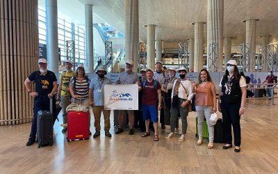 Einreise-Pilotprojekt: Erstmals wieder Touristen aus Deutschland in Israel
