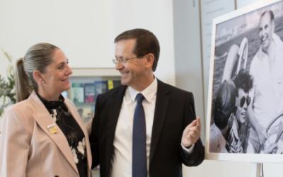 Favorit setzt sich durch: Jitzchak Herzog zum 11. Staatspräsidenten gewählt