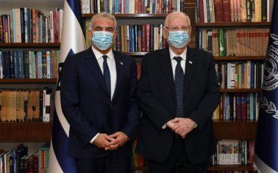 Anti-Netanjahu-Bündnis: Lapid präsentiert Pläne für Regierung