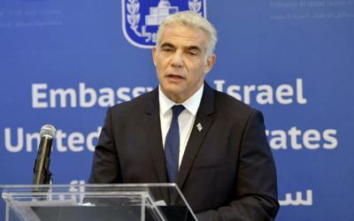 Historischer Besuch von Lapid: Botschaft in Abu Dhabi eingeweiht