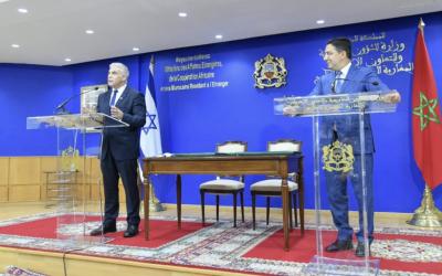 Video: Lapid zu historischem Besuch in Marokko