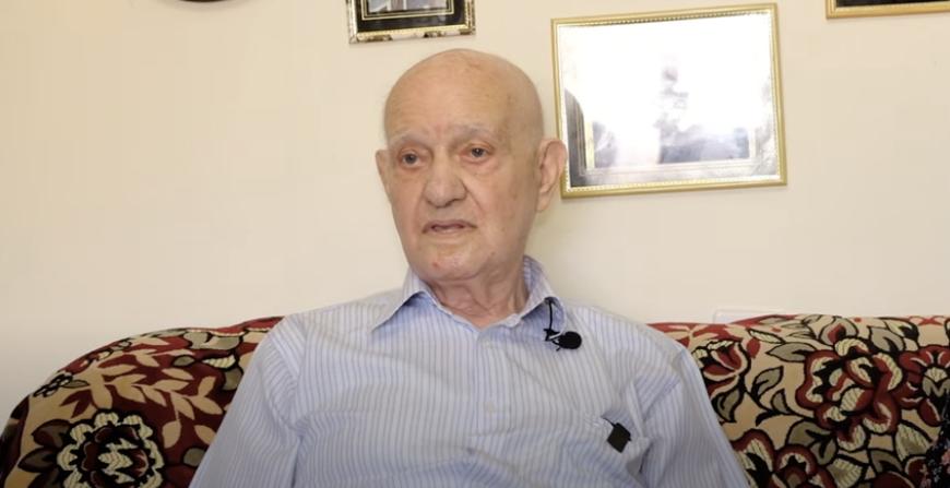 Massaker vor 80 Jahren: Knesset-Medaille für letzten Babi-Jar-Überlebenden